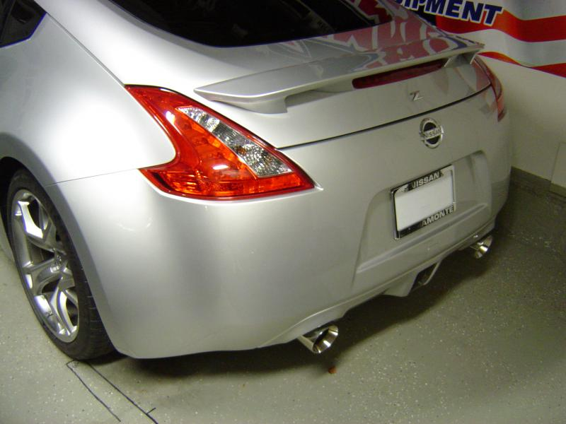 New custom exhaust tips - Installed by Minute Muffler Dublin, Ca.