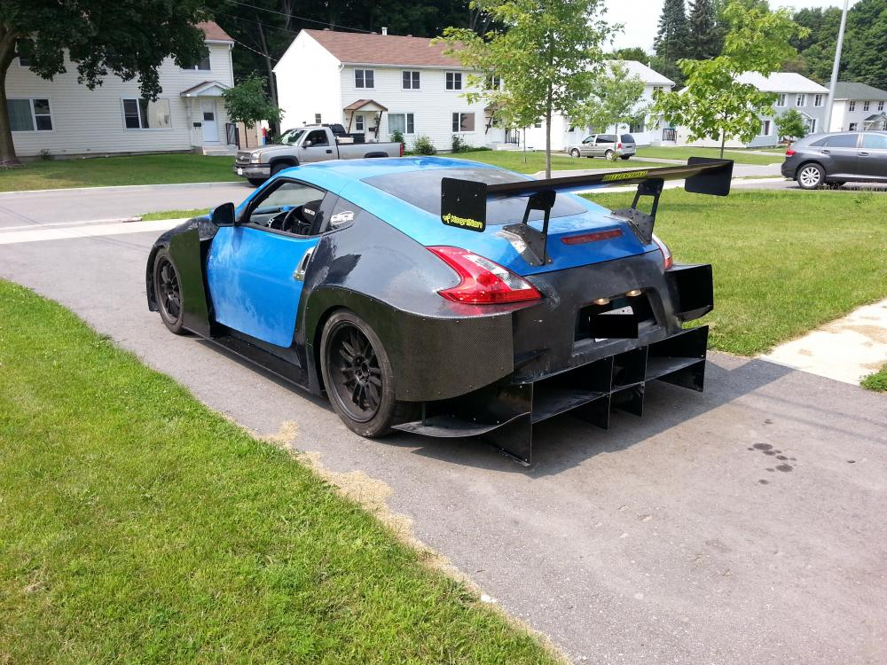 It Isnt Like Any Other Wide Body Kit Megan Ver1 0 Wide Aero Body Kit Nissan 370z Forum