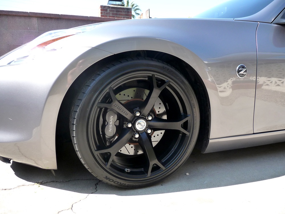 Nismo Wheels In Matt Black Nissan 370z Forum