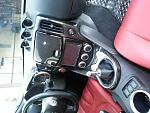 Cf center console, shift boot, shift knob