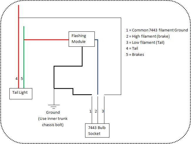 DIY: of complete FOG LAMP install - Page 7 - Nissan 370Z Forum Nissan Tail Light Wiring Diagram on