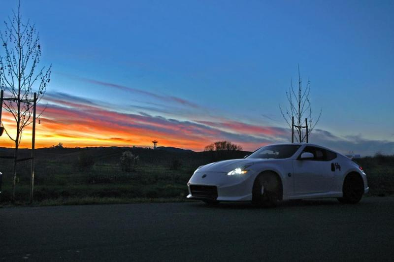 Beautiful Sunset, Beautiful Car