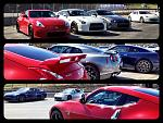 Nissan Z/GT-R car corral Laguna Seca