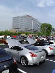 Day of the ZATTACK Event - Nissan Corporate in the background. Was a GREAT DAY for ALL Particpants!