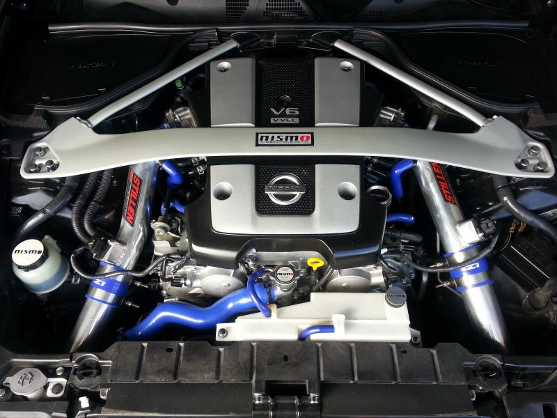 Custom Front Strut Bar Thread Page 3 Nissan 370z Forum