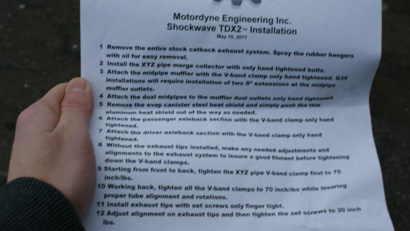 Review MOTORDYNE SHOCKWAVE E370 - Nissan 370Z Forum