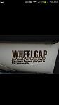 wheel gap