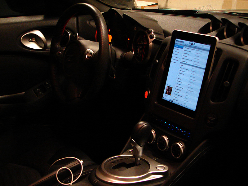 Ipad installation pics nissan 370z forum