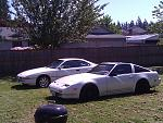 89' 300zx turbo 5mt moonglow pearl white