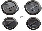 Nissam Z Emblem (Design 2   Tabs Comparison)