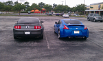 My 370z with some friends