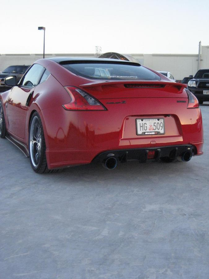 Hawk Brake Pads >> When Roof Spoiler Goes Wrong..... - Nissan 370Z Forum
