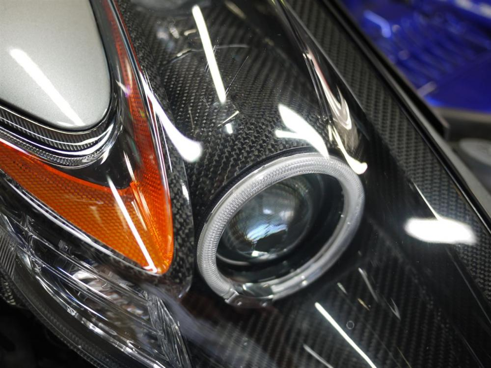carbon fiber headlight liner angel eyes nissan 370z forum. Black Bedroom Furniture Sets. Home Design Ideas