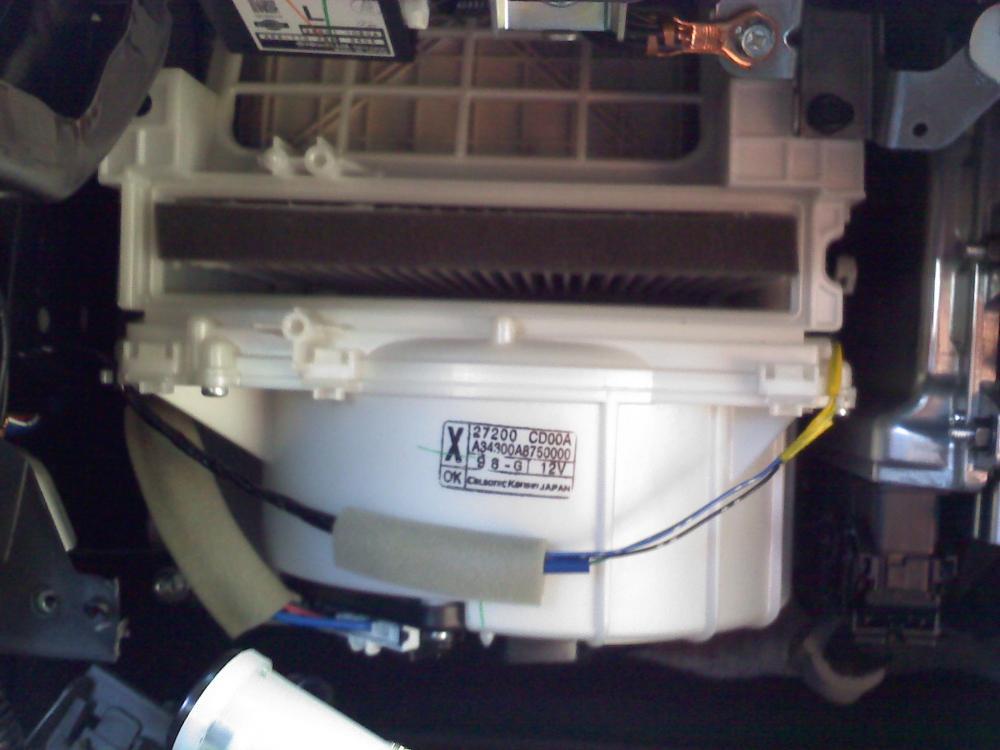 Cabin air filter installed: 4-4-2010