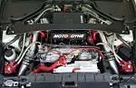 Stillen Grounding Kit and Z1 Brake Booster hose installed.