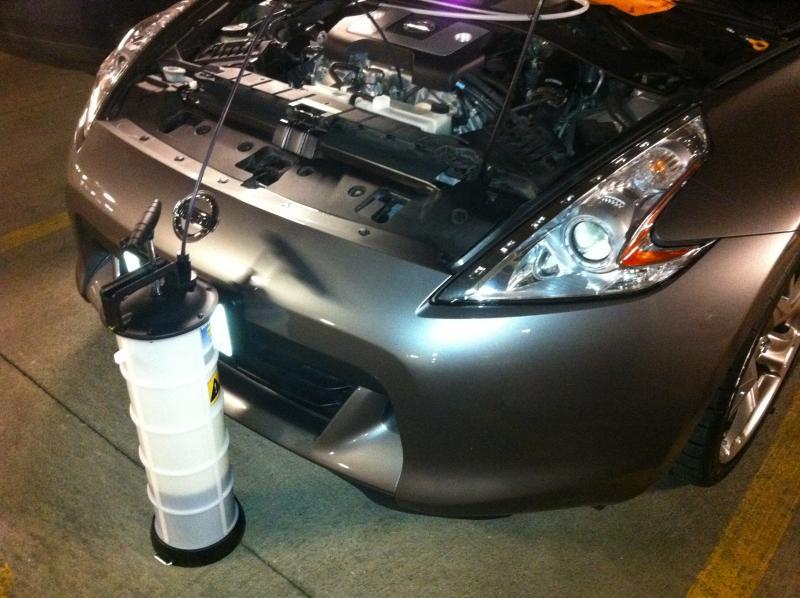 Diy Oil Pressure Gauge Nissan 370z Forum