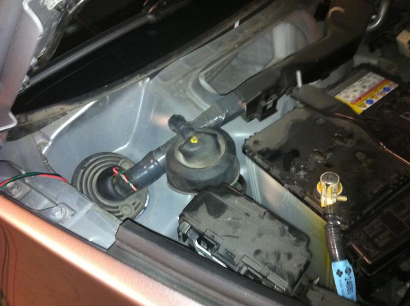 Diy Oil Pressure Gauge Nissan 370z Forum