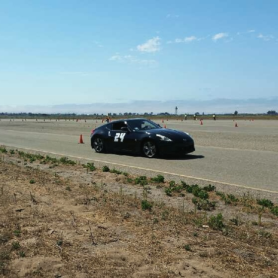 First autocross