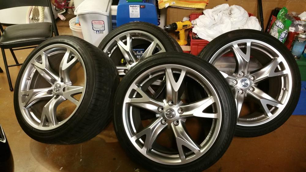 nissan 370z forum thezfactor 39 s album my tires and wheel. Black Bedroom Furniture Sets. Home Design Ideas