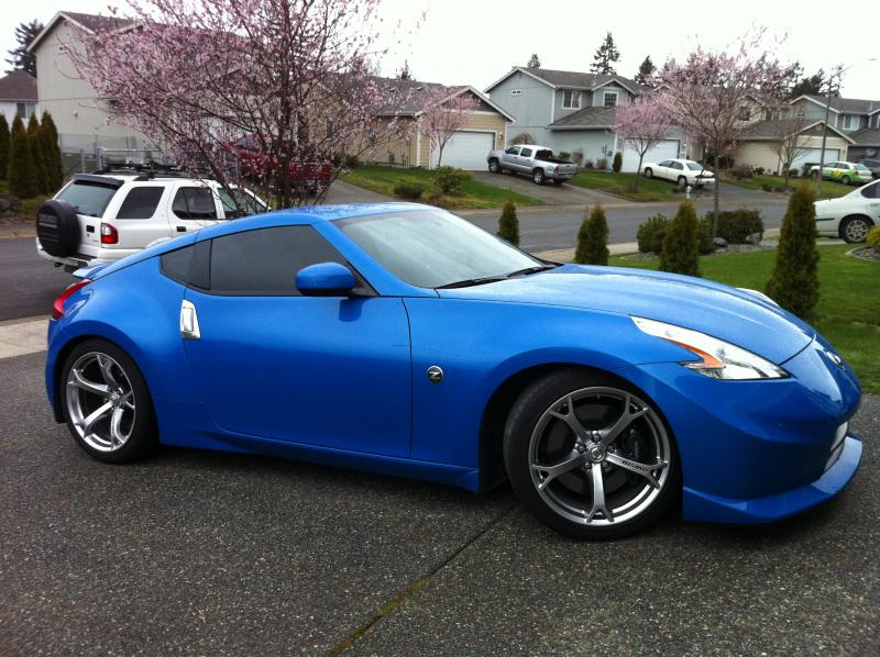 Nissan Altima Coupe Custom Nissan 370z Nismo 2014 Blue Nismo diffuser so it can