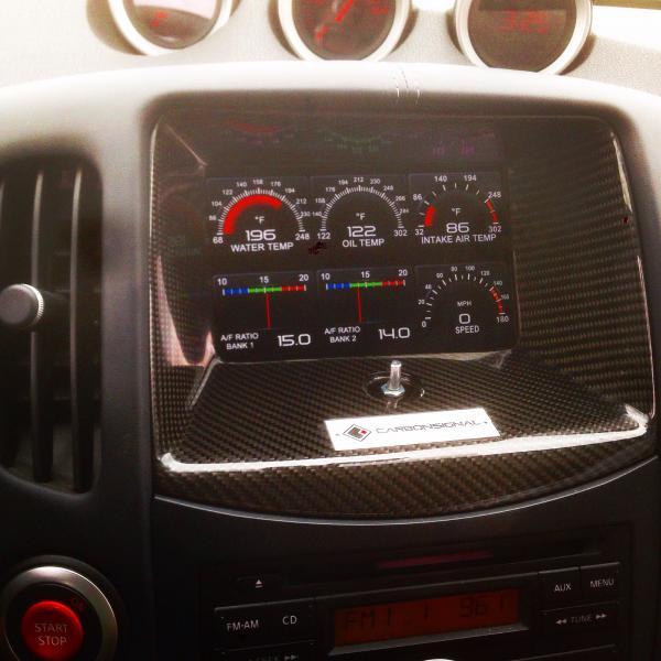 Carbon signal gtr gauges