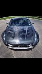 VIS AMS hood carbon fiber 370z z34 nissan
