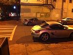 Came out from dinner and saw my arch nemesis- the Cayman S