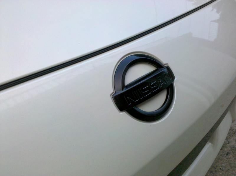 Black Pearl Nissan Emblems For Rear Nissan Forum