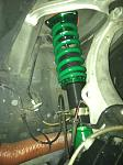 Tein Flex Coilover front driver side.