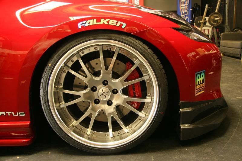 Nissan 370Z Forum - VIP-STATUS's Album: 370Z on Wheels ...