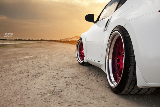 ISS Forged Twin Turbo 370z