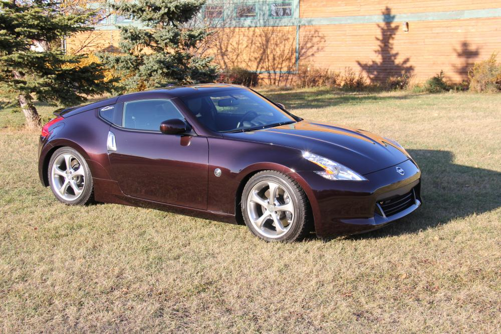 Anyone Got Some Black Cherry Z Pictures Nissan 370z Forum