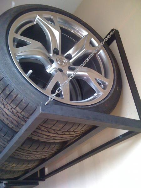 Homemade Tire Rack Nissan 370z Forum