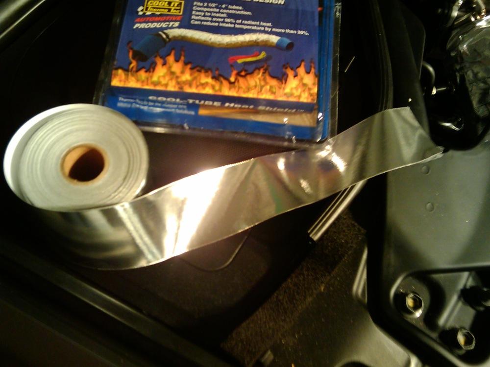 Nissan 370Z Forum - wstar's Album: Stillen Intake Heat ...